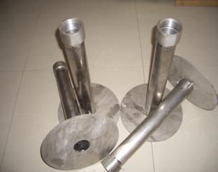 铌、钛合金材质喷枪生产加工成品!
