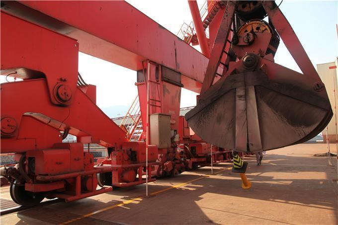 卸船机抓斗轴销轴套润滑油案例
