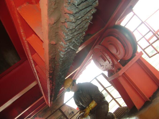 卸船机开式齿圈专用复合固体润滑剂
