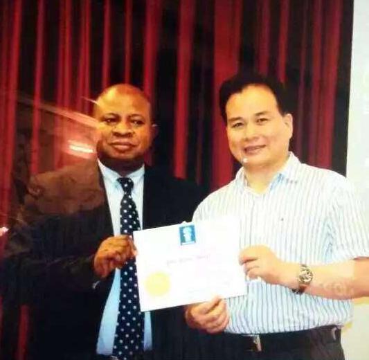 张老师参加美国相关技术交流获得优 秀论文奖
