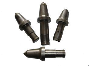 一种采煤机潜伏式固体复合润滑截齿组件的制作方法