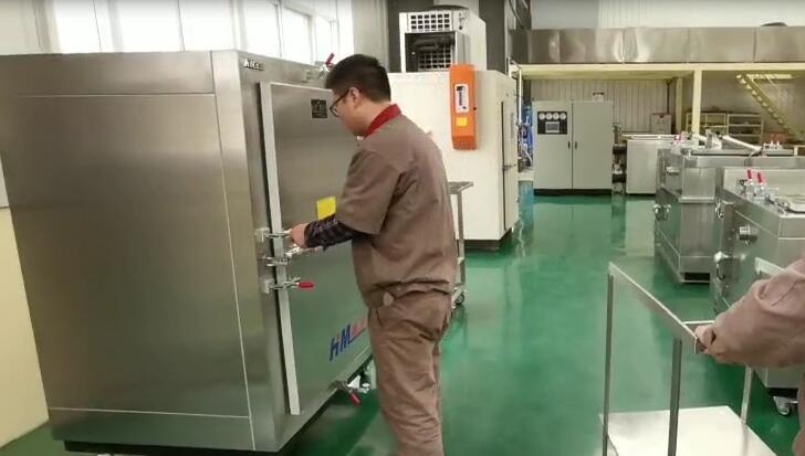 液氮速冻箱(速冻快,中产量)