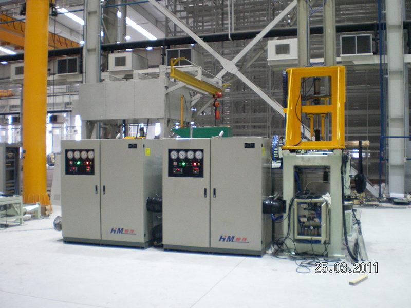 双涡轮低温装配机(0~-100℃大型工件装配)