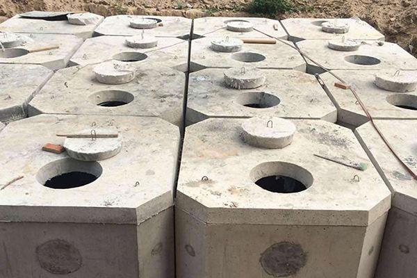 预制水泥化粪池 组合式化粪池