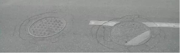 道路检查井图