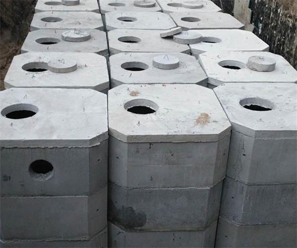包头预制化粪池制作安装施工案例