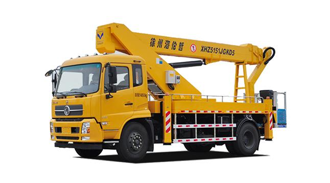成都高空作业车租赁-混合臂35米