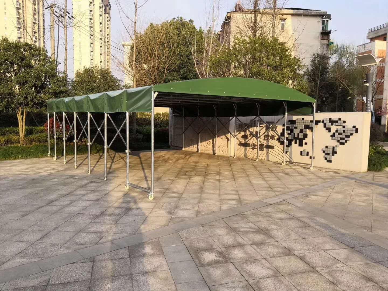 用什么材质做陕西推拉雨棚比较好?