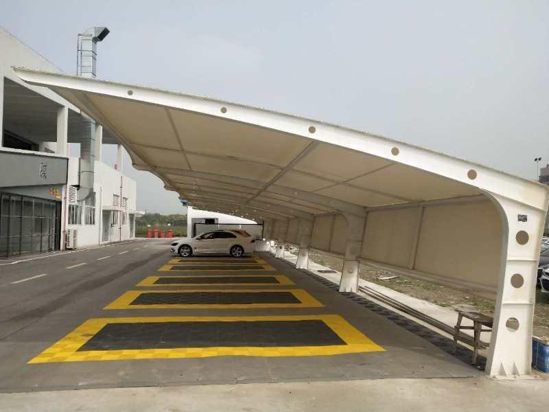 西安膜结构车棚建筑优势