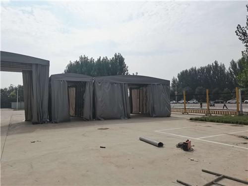 陕西推拉雨棚建设施工