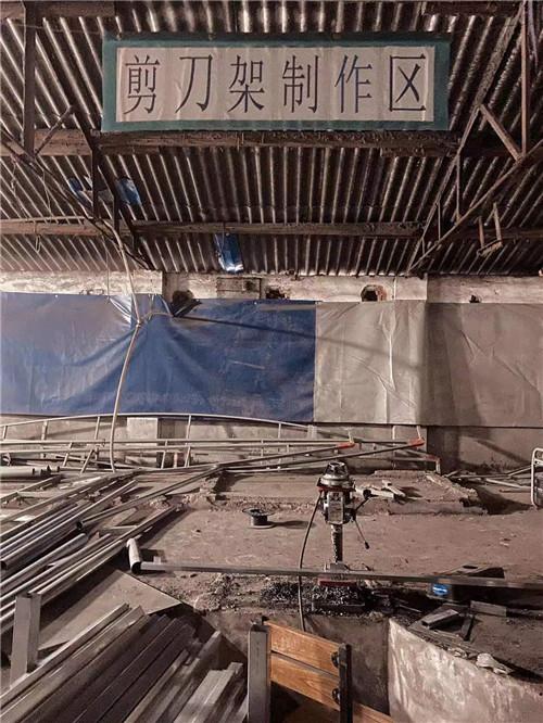 西安仓库推拉雨棚