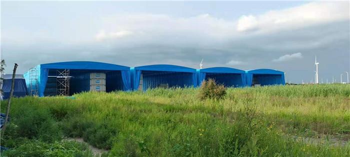 鑫盛泰分享推拉式活动遮阳雨棚的设计要点