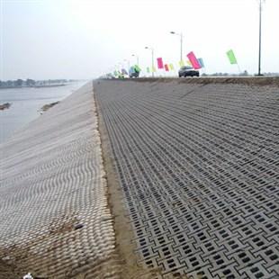 西安護坡磚施工