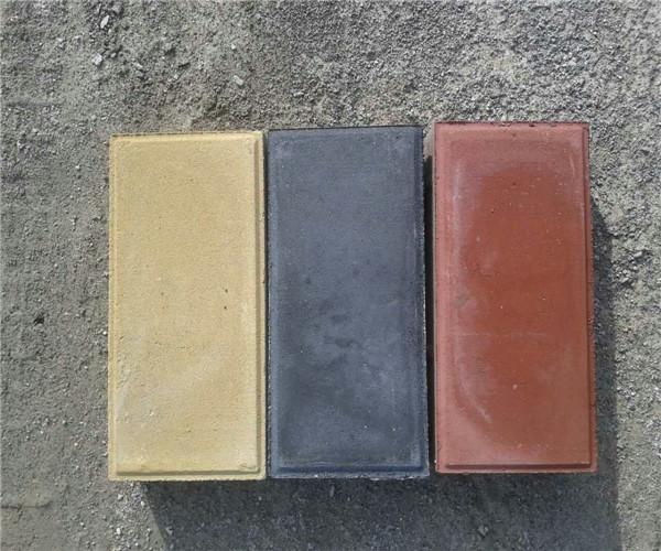 彩色透水磚施工案例