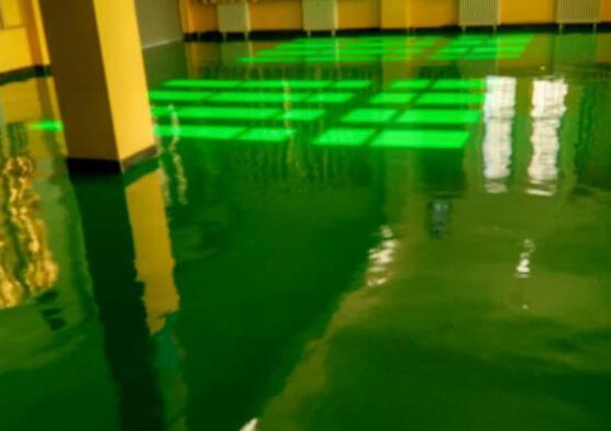 甘肃现代职业学院实验室-环氧自流平地坪工程施工