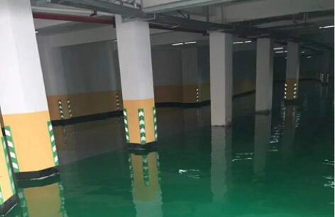 刘家峡车库环氧地坪工程