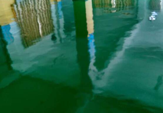 甘肃现代职业学院实验室环氧自流平地坪施工案例
