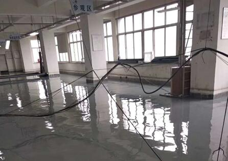 中国联通机房防静电环氧地坪施工
