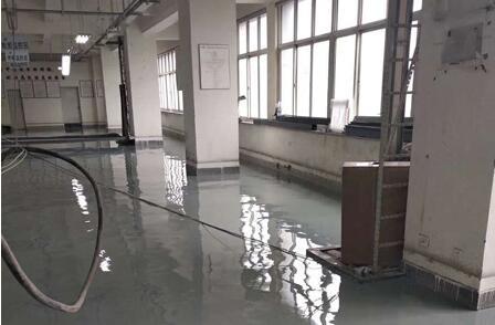 中国联通机房-防静电环氧地坪施工