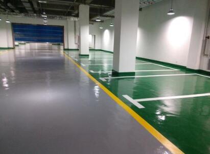 环氧树脂地坪漆的施工工艺流程