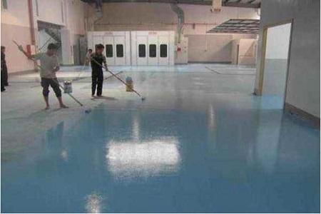 環氧地坪漆施工為什么要做中涂層
