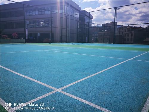 广安市华福小学球场案例