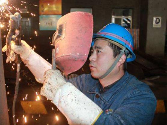 电厂检修现场焊接