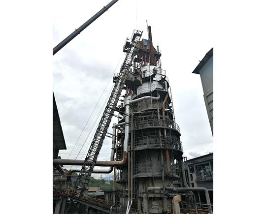 天原电石炉检修安装