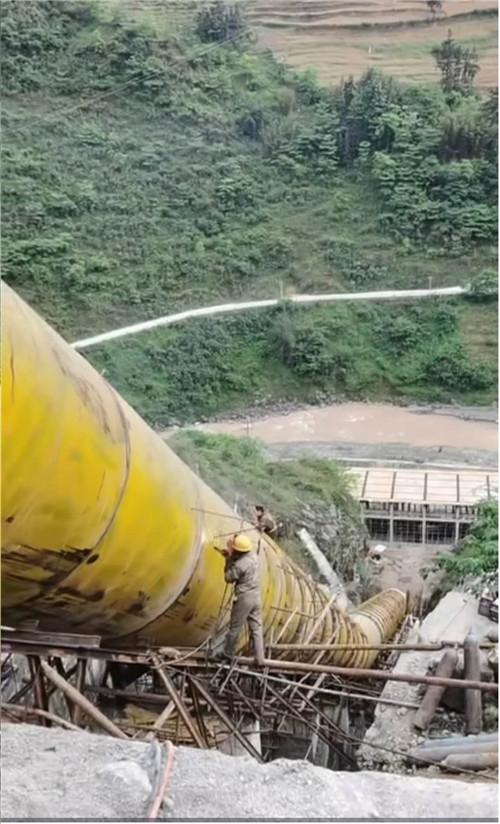 云南水电站管道安装