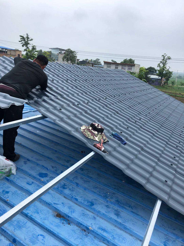 合成树脂瓦适合哪些屋面?