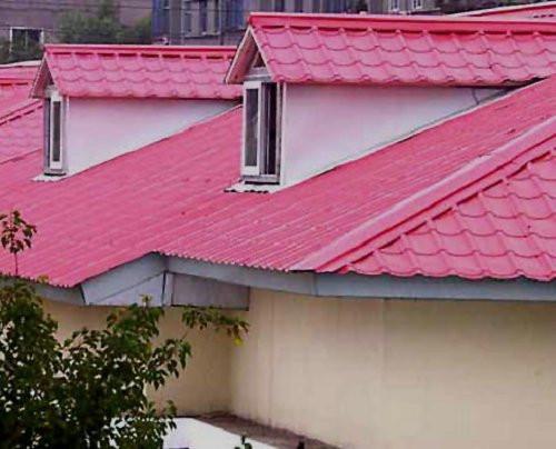 树脂瓦是什么新型建筑材料,农村建房适合用吗?