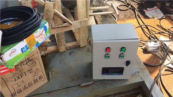 化工厂尾气处理自动点火控制箱安装现场