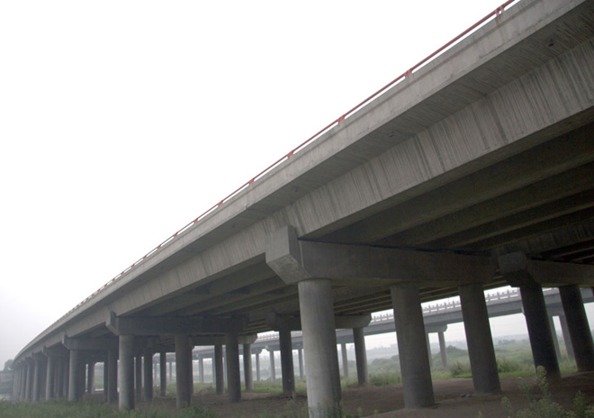 西安绕城北段灞河大桥