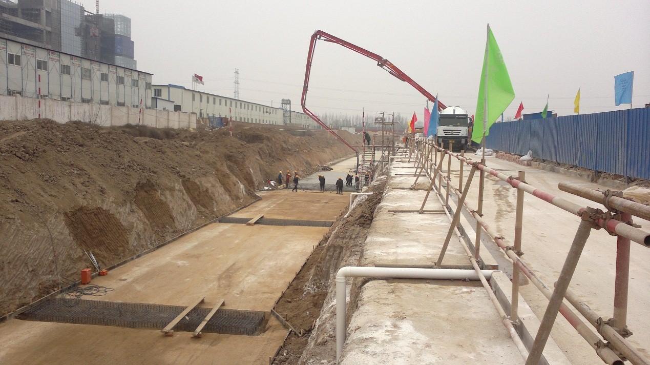 西安市港务区港务西路共同沟工程