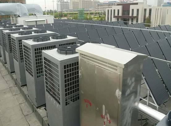 甘肃省张掖市临泽县游泳馆供暖+热水+1600吨池水恒温