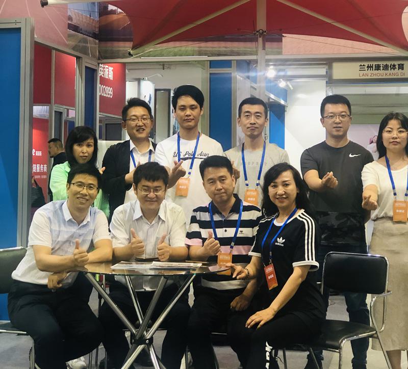 甘肃博众新能源团队参加展会
