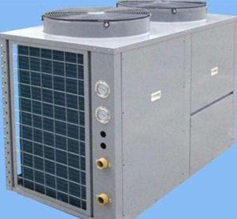 热泵机组的换热器经过设计优化,换热、除霜效果更高效