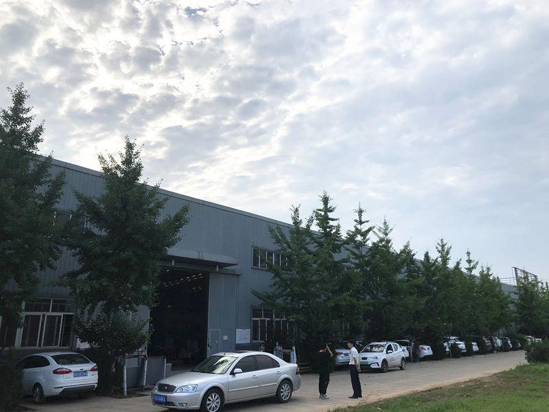 天盛金属工程生产厂区
