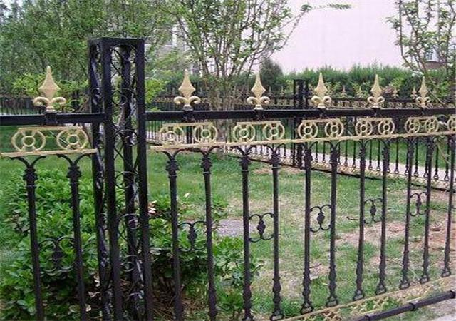 西安铁艺围栏定制