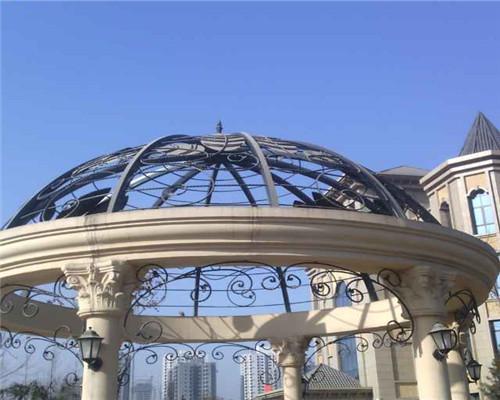 铁艺廊架设计