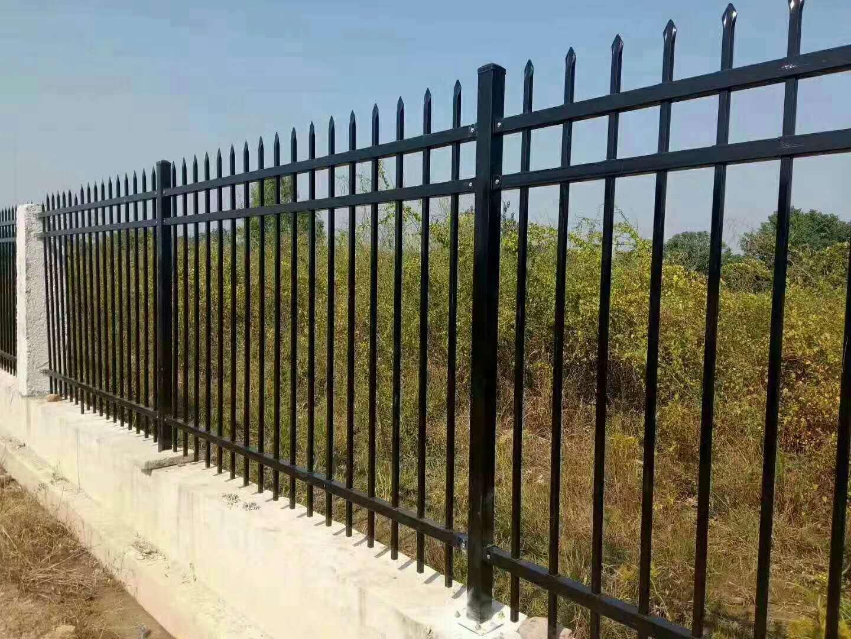 小区铁艺栏杆案例