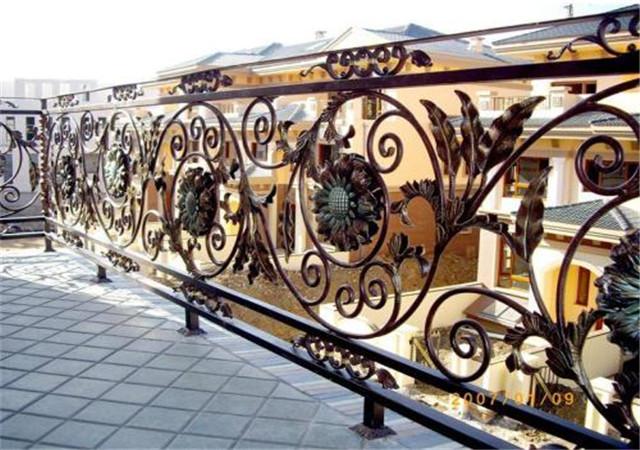 西安铁艺护栏生产
