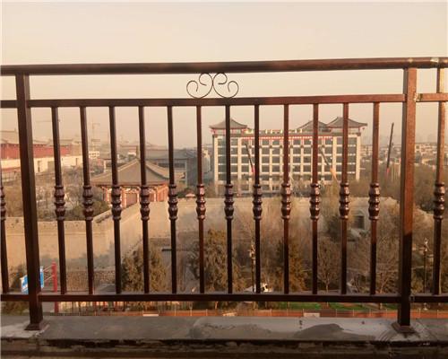 西安铁艺围栏施工