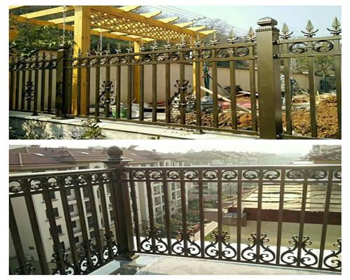 铁艺栏杆生产