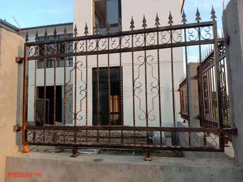 别墅庭院栏杆案例