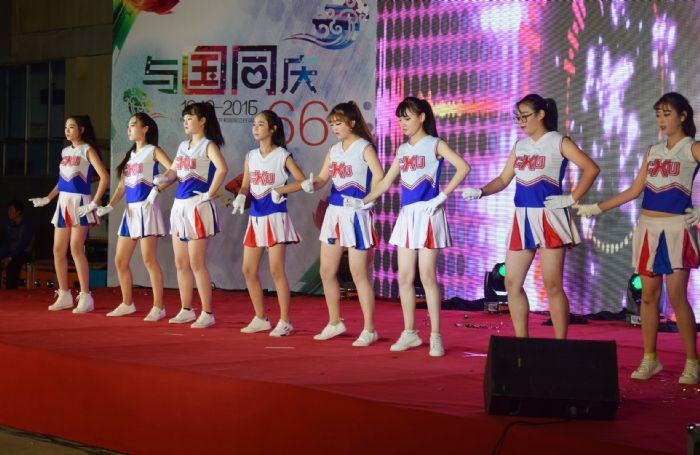 甘肃陇原技工学校庆国庆文艺汇演