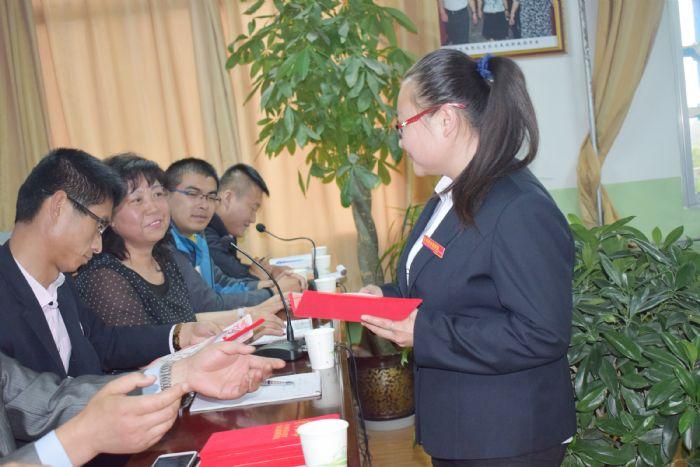 【教师风采】甘肃陇原技工学校教案与评比表彰大会