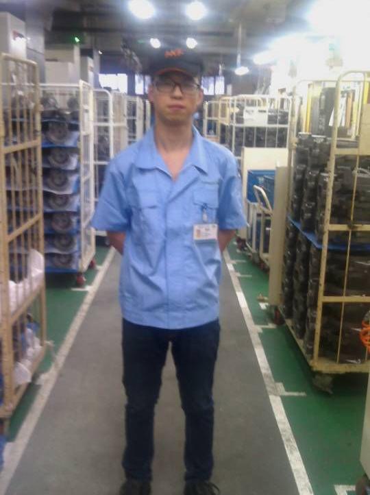福州日立工机技术科科长——潘润