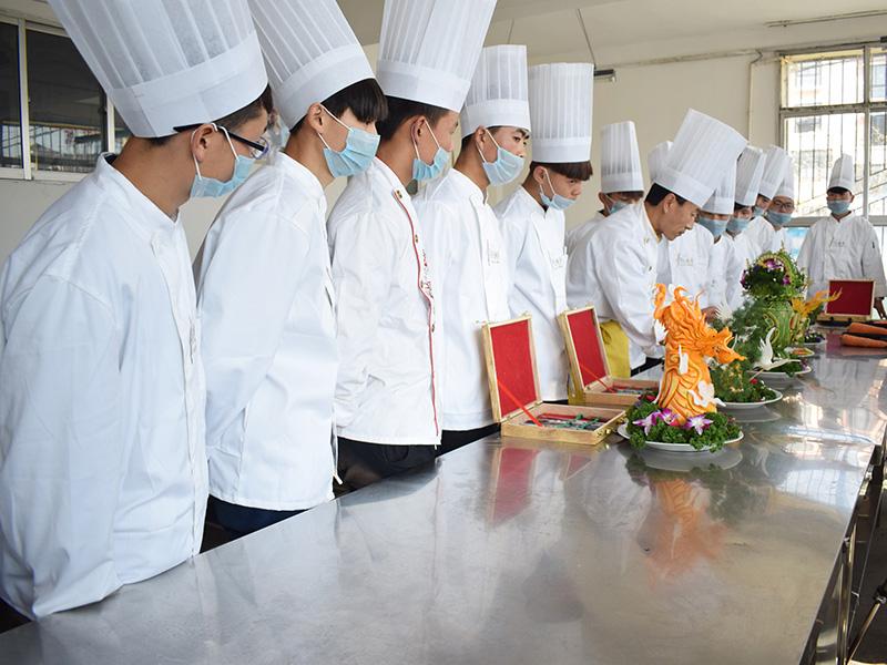 烹饪专业实习厅