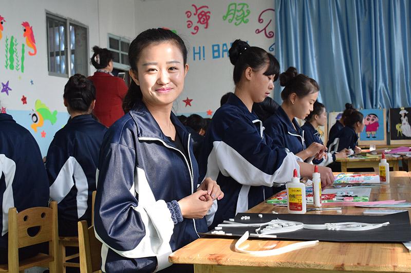 甘肃陇原技工学校学前专业 学生风采展示